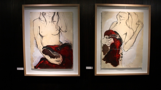 Carolina Piteira Exhibition Behind The Red Curtain (10)