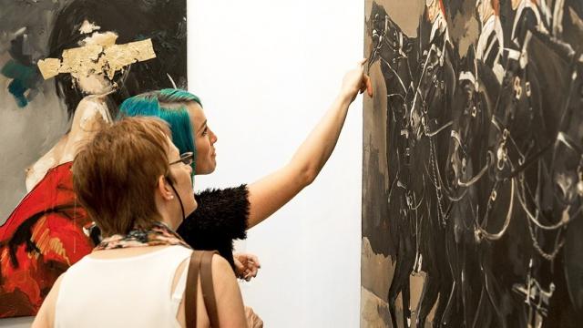 Carolina Piteira Exhibition Curtain Falls (7)