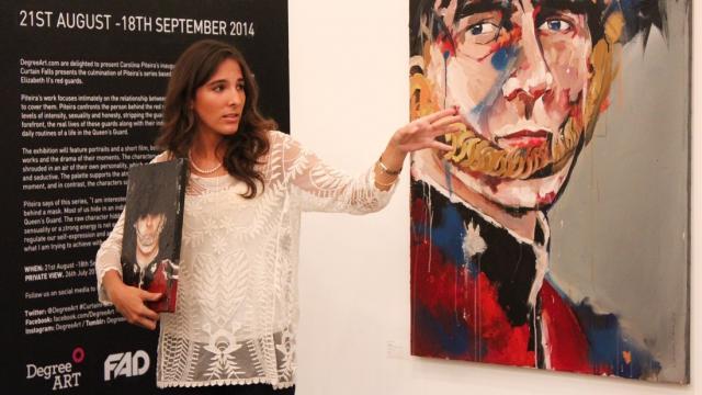 Carolina Piteira Exhibition Curtain Falls (24)