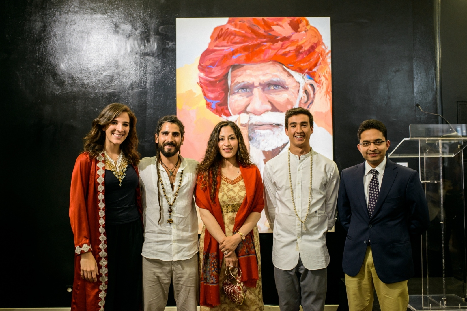 Carolina Piteira Press Embassy of India (1)