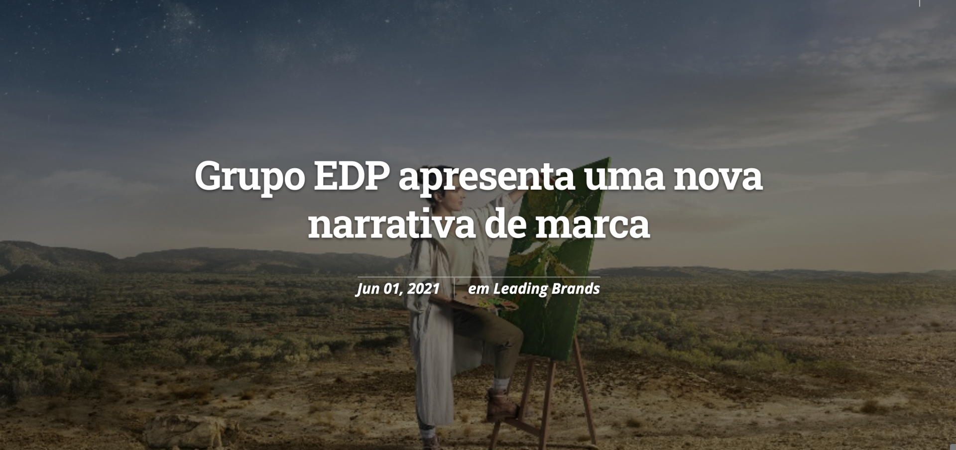 Carolina Piteira Press Lider Magazine - Grupo EDP apresenta uma nova narrativa de marca (1)
